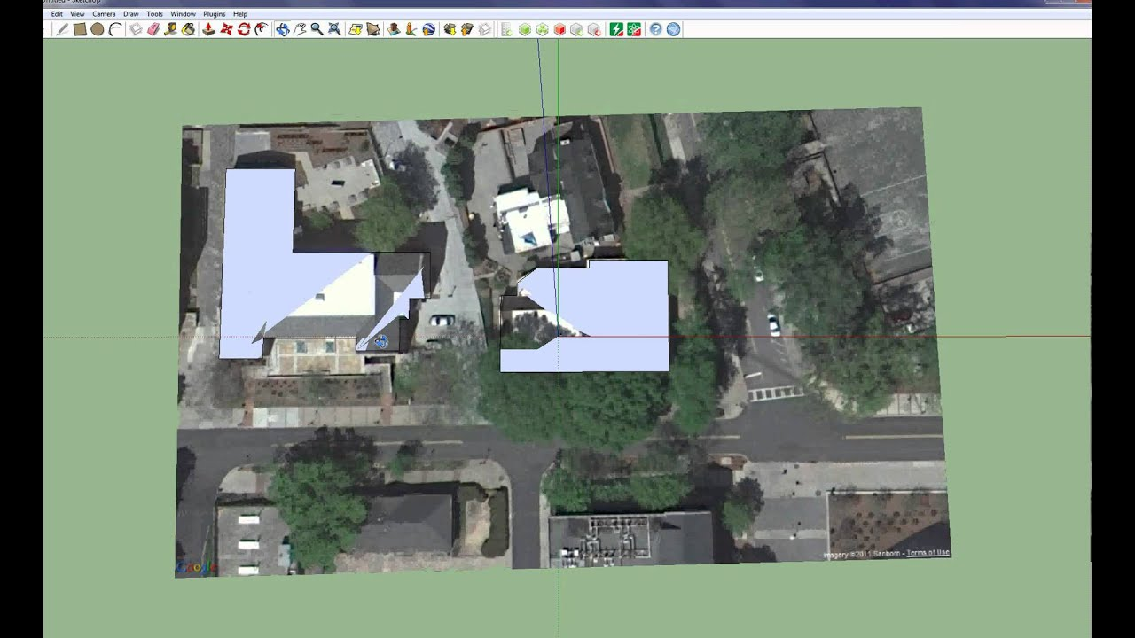 Lesson1 import google earth to youtube for Sketchup import
