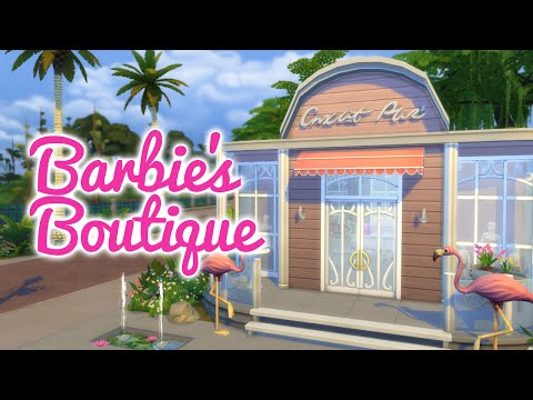 The Sims 4 GTW Speed Build — Barbie's Boutique