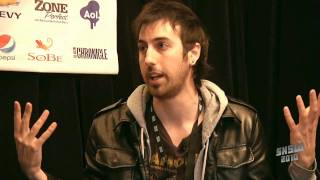 Ti West and Ruben Fleischer at Studio SX 2010 presented by Sapient Nitro