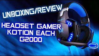 UNBOXING/REVIEW HEADSET GAMER KOTION EACH G2000 [PRUEBA DE AUDIO]