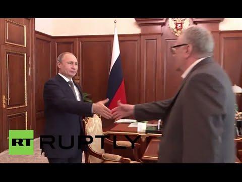 Russia: Putin Talks Far East Development With LDPR Leader Zhirinovsky