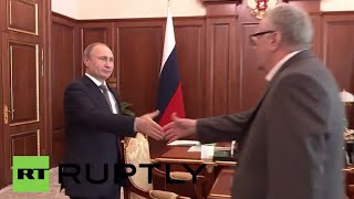 Russia: Putin talks Far East development with LDPR leader Zhirinovsky