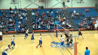 SUNY New Paltz Men's Volleyball Game - April 9th 2016