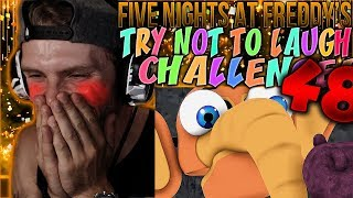 Vapor Reacts #690 | [FNAF SFM] FIVE NIGHTS AT FREDDY'S UCN TRY NOT TO LAUGH CHALLENGE #48