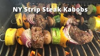 NY Steak Kabobs | Grilled Beef Steak Kabobs with Malcom Reed HowToBBQRight