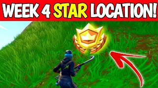 Fortnite Season 10 Week 4 Secret Battle Star Location - Season X Secret Star Location