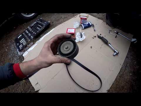 Замена приводного ремня и роликов/REPLACEMENT OF THE DRIVE BELT\FORD/Форд Мондео 4|duratec He 2.0