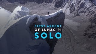 First Ascent of Lunag Ri – Solo