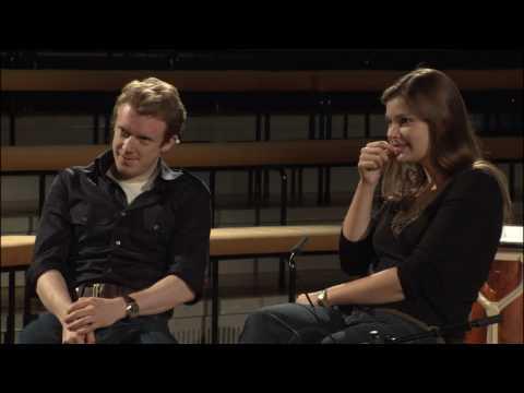 Janine Jansen and Daniel Harding on music and new media