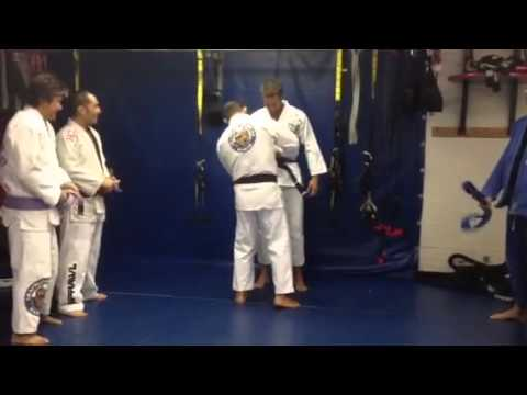 Alex O'Loughlin Gets His BJJ Blue Belt