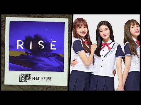 IZONE Collaborated With Producer Jonas Blue For A Song, RISE (feat. IZ*ONE)