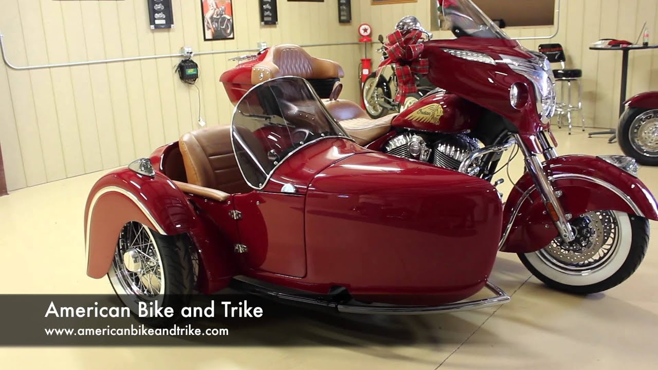 Indian Chieftain With Sidecar Youtube