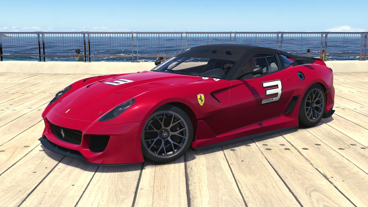 Forza Horizon 3 - 2010 Ferrari 599XX - YouTube