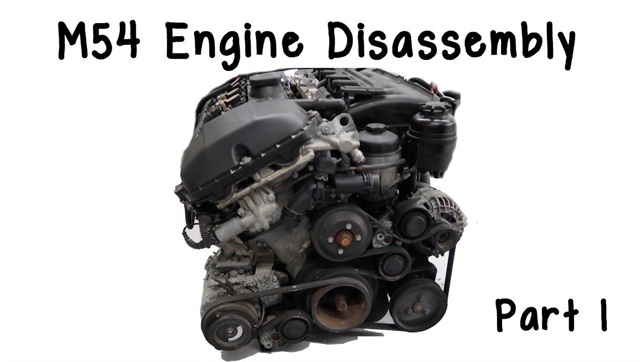 part 1 bmw m54 engine disassembly get to know your. Black Bedroom Furniture Sets. Home Design Ideas