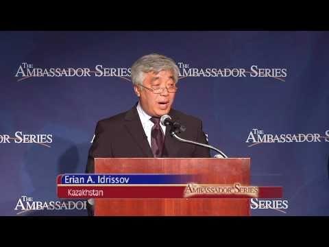The Ambassador Series w/ Amb. Erlan A. Idrissov