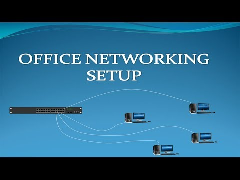 Wiring an Office Network | Office Networking Setup By Various Topics