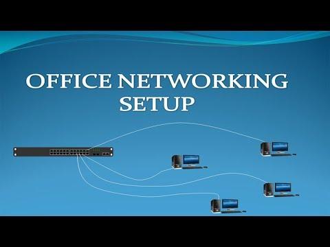 Wiring An Office Network   Office Networking Setup By Tech Guru Manjit
