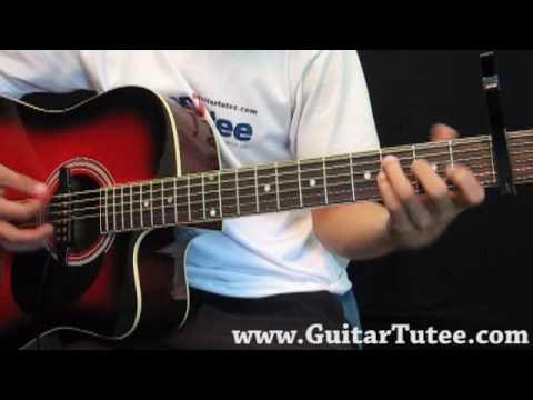 Lady GaGa - Paparazzi, by www.GuitarTutee.com