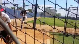 Benjamin T. Learns Curve Ball From EX-MLB Pitcher Dave Frost