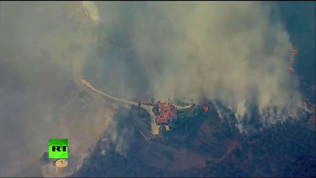 Incendios en California amenazan zonas residenciales