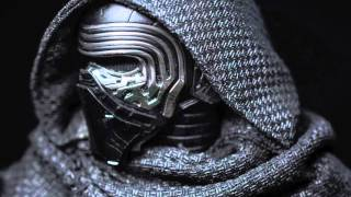 HOT TOYS STAR WARS THE FORCE AWAKENS KYLO REN 1:6 FIGURE PHOTO REVIEW