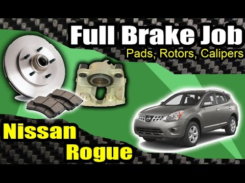Diy Nissan Rogue Front Brake Job Amp Caliper Swap Hd