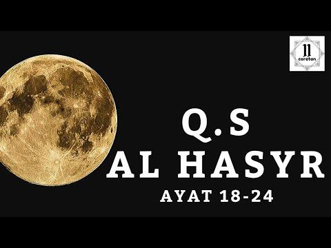 Surat Al Hasyr Ayat 18 24