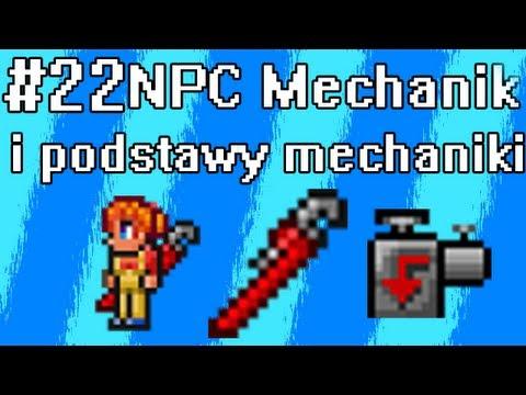 Poradnik Terraria [22] -  NPC Mechanic, mechanizmy, przewody, pompy etc. - podstawy mechaniki
