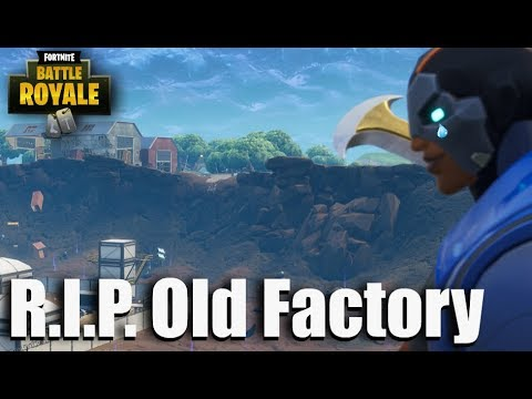 Rip Old Factory Fortnite Battle Royale