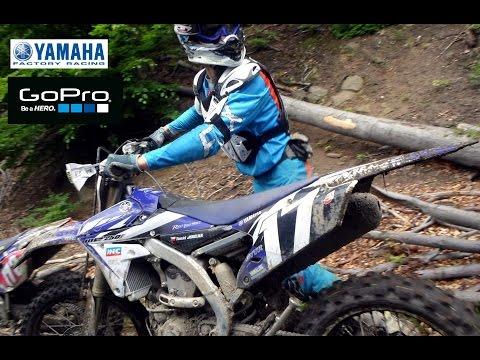 2015 Yamaha YZ250FX-WR250F Wood test GOPRO