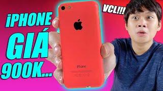 iPhone 5C - MUA THỬ iPHONE 5C CHỈ 900k VÀ CÁI KẾT...