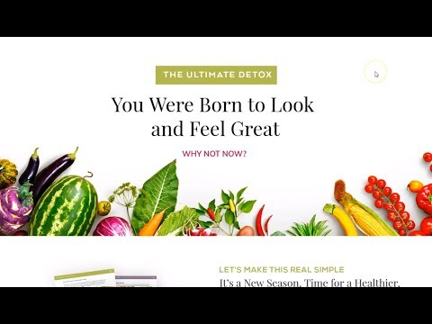 Detox with Trish | Nutritionist Website Design