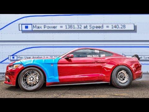 TT Mustang SCREAMS on Dyno - Nearly 1400hp!