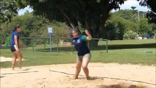 Handball Goalkeeper - o Goleiro de Handebol (Parte XXIV) - Beach Training