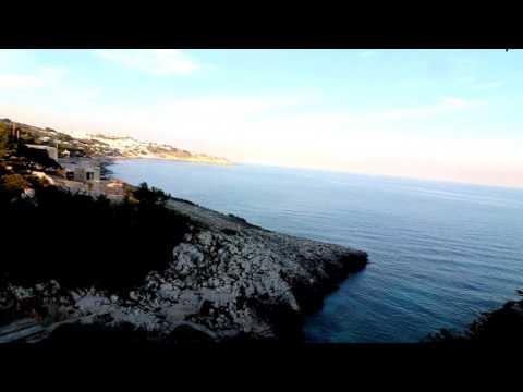 Piazza di marittima di Diso - Marina di Marittima - Insenatura di Acquaviva