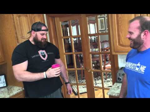 Derek Poundstone Introduces Justin Sulham To The Infamous Chicken Shake