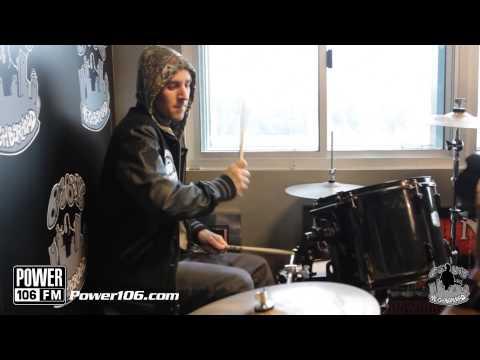 Travis Barker Power 106 Drum Solo