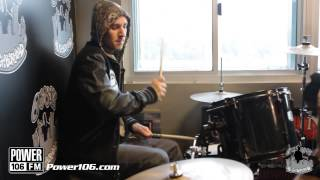 Travis Barker Power 106 Drum Solo