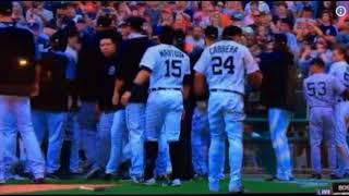 MIGUEL CABRERA vs AUSTIN ROMINE - Baseball FIGHT (Aug 24)