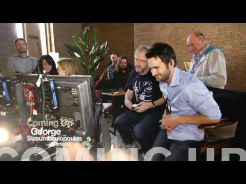 George Visits Republic of Doyle Set With Allan Hawco
