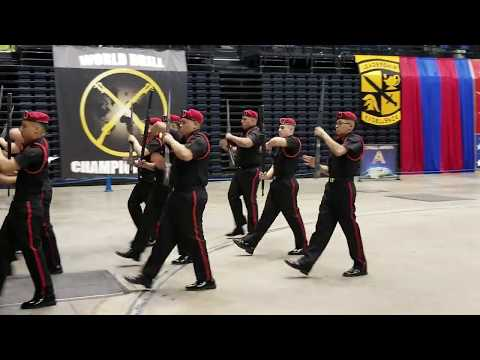 Waukegan High School Bulldog Guards Armed Drill JROTC Nationals Competition Daytona Florida 2019
