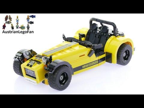 Lego Ideas 21307 Caterham Seven 620R - Lego Speed Build Review