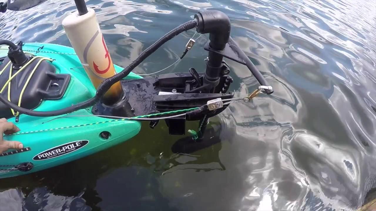 Kayak Trolling Motor Build Youtube
