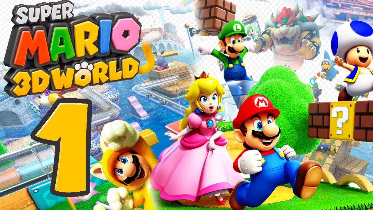 Let s Play Super Mario 3D World Part 1 Abenteuer im Feenland