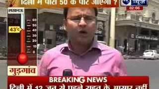 Delhi temperature to cross 50 degrees?