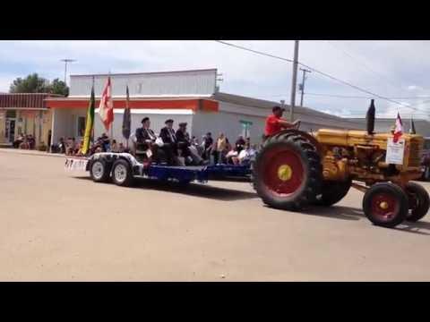 Quill Lake SK Homecoming 2016 Parade