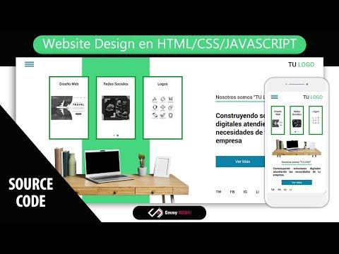 Website Design Concept Digital Agency Responsive (Slider Swiper.js) | HTML CSS Y JAVASCRIPT