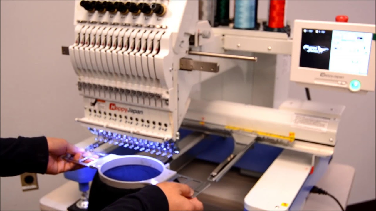 940503288fd9b HAPPY Embroidery Machines  Easy to Operate! - YouTube