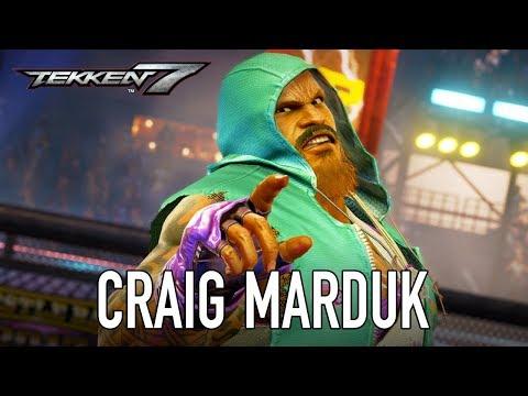 Tekken 7 - PS4/XB1/PC - Craig Marduk (Season Pass 2 Character Trailer)