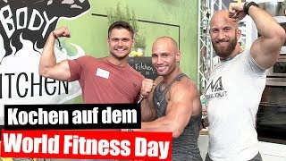 World Fitness Day mit FlyingUwe und Flavio Simonetti 🙃